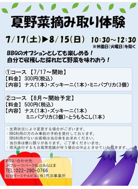 夏のBBQ開催!